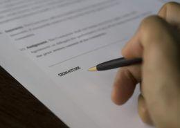 חתימה על הסכם ממון - גרטל גרבר