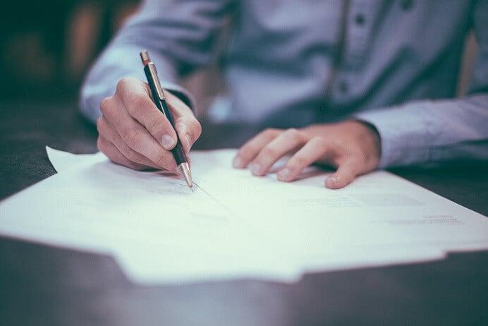 חתימה על הסכם ממון